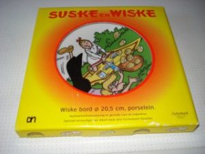 AH bord Wiske + doos