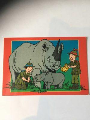De Stulp Suske en wiske met neushoorn