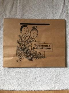 Draagtas van papier Toerisme Kalmthout