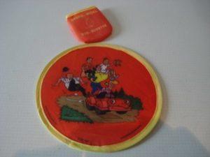 Frisbee familie en vitamitje