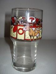 Glas Hoog Suske en Wiske Stierengevecht