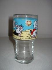 Glas Hoog Lambik in woestijn