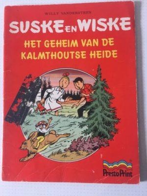 Het geheim van de Kalmthoutse heide Prest print In gekleurd