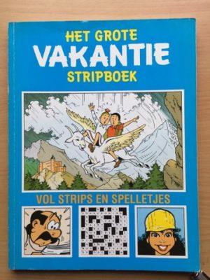 Het grote vakantie stripboek blauw 1992