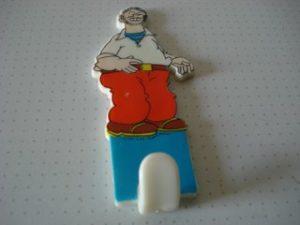 Kapstokje plastic Kuifje serie