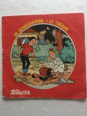Knorr single De schatgravers zonder boekje