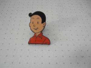 Pin Suske hoofd