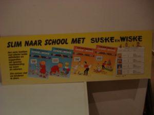 Plaat karton Slim naar school 1988