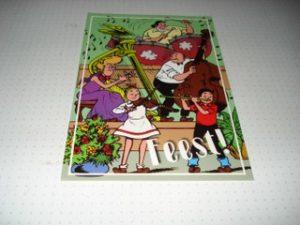 Postkaart Fanclub feest