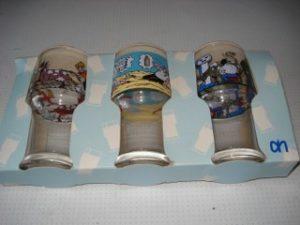 Set a 3 glazen verpakt AH