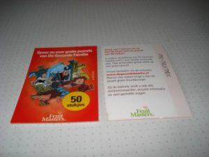 Spaarpunt Puzzel 50 stuks Rood