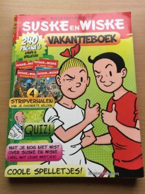 Vakantieboek Lichtgroen 240 pagina's
