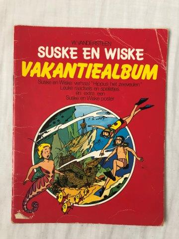 Suske en Wiske Vakantiealbum (Smarties)