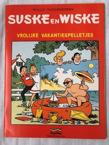Vrolijke Vakantiespelletjes (Presto Print)
