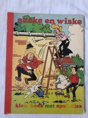 Suske en Wiske Kleurboek met spelletjes