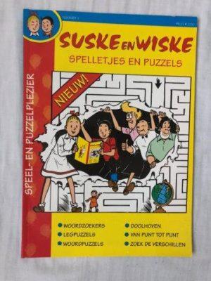 Suske en Wiske Spelletjes en Puzzels (1)