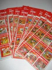 Cover stickers 13 x 12 stuks