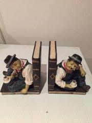 Boekensteunen Laurel en Hardy