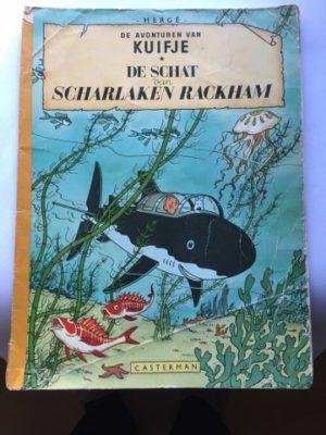 De Schat van Scharlaken Rackham Kuifje