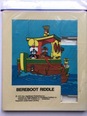 Schuifpuzzel Bereboot ook in een bootje