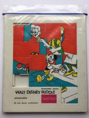 Schuifpuzzel Walt Disney Riddle Pinocchio