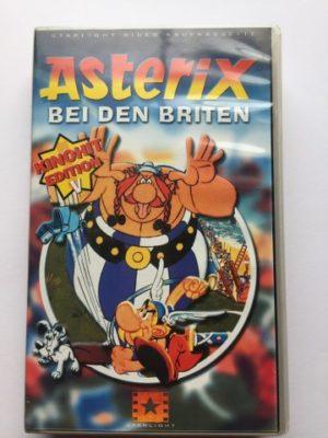 VHS Asterix Bei den britten