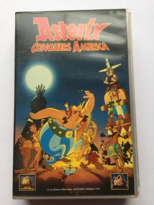 VHS Asterix Conquers America