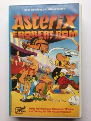 VHS Asterix Erobert Rom