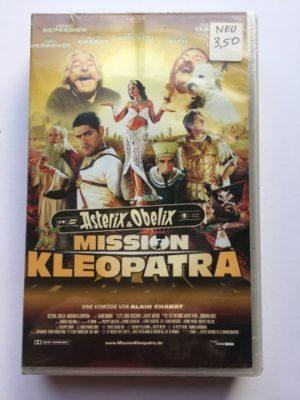 VHS Asterix & Obelix Mission Kleopatra