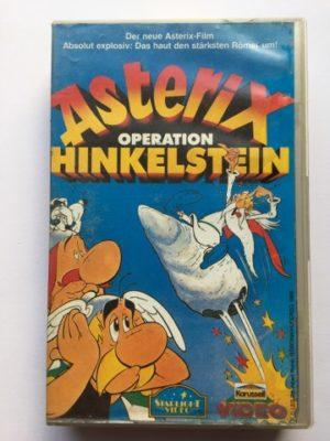 VHS Asterix Operation Hinkelstein Exklusiv