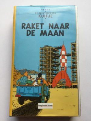 VHS Kuifje Raket naar de maan