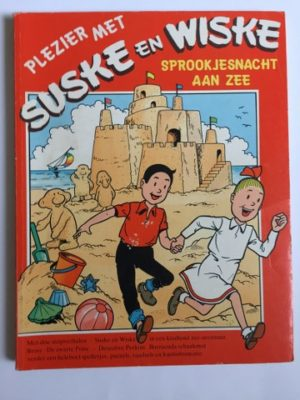 Plezier met Suske en wiske Sprookjesnacht aan Zee