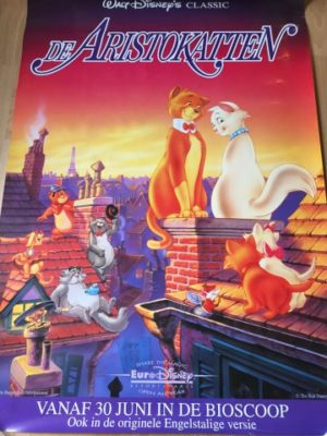 Poster De Aristokatten Walt Disney