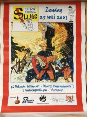 Poster Stripfestival Sluis