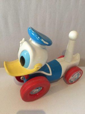 Donald Duck als voertuig