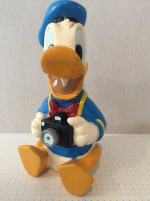 Donald Duck met fototoestel