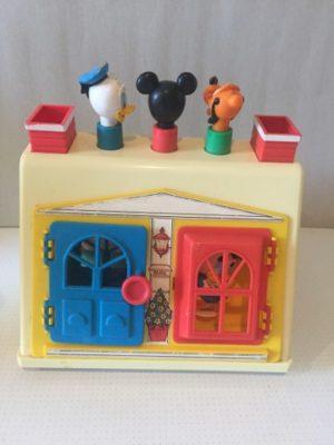 Disney Huis met 4 ramen