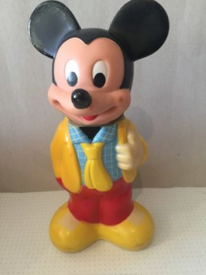 Mickey Mouse Blauw geblokt overhemd