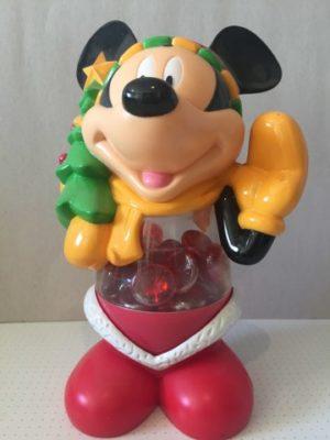 Mickey Mouse als snoeppot Kerstboompje decoratie