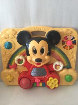 Mickey Mouse draai en beweegspel