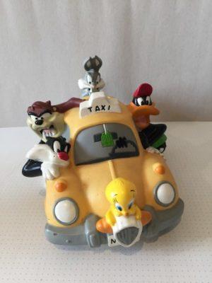 Disney taxi met al zijn vrienden