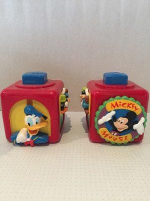 Donald Duck en Goofy Kubus