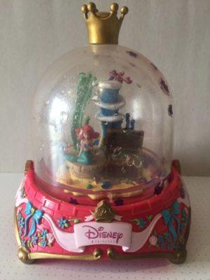 Disney Kroon met Ariel de Kleine zeemeermin en schatkistje