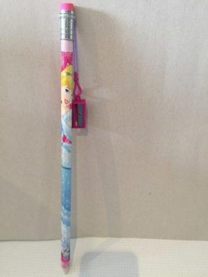 Assepoester potlood met slijper