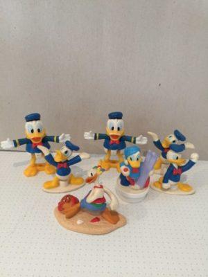 Donald Duck poppetjes 7 stuks assortie
