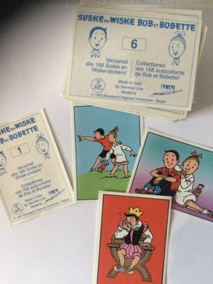 Losse stickers Italy uit 1995 van Autocolants_