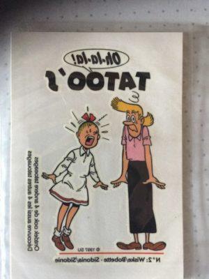 Sticker Taoo Wiske en Sidonia 1997