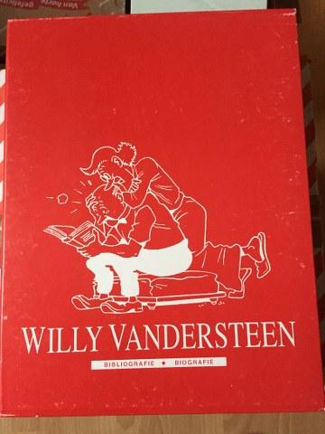 Willy Vandersteen Bibliografie en Biografie