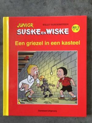 Junior HC Een griezel in een kasteel AV3 Rood Geel