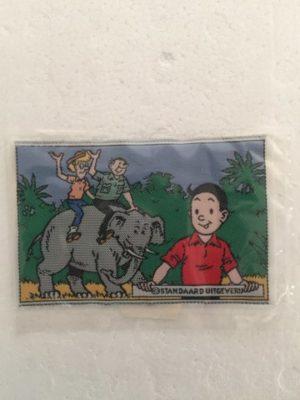 Opnaai set Sidonia en lambik op olifant